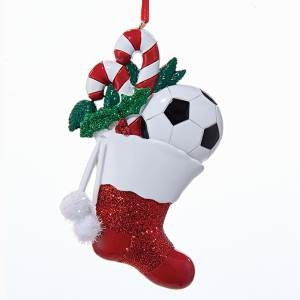Stocking with Soccer Ball