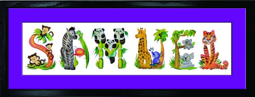 Letter Brush Art Animals Kaman S Art Shop Kamans