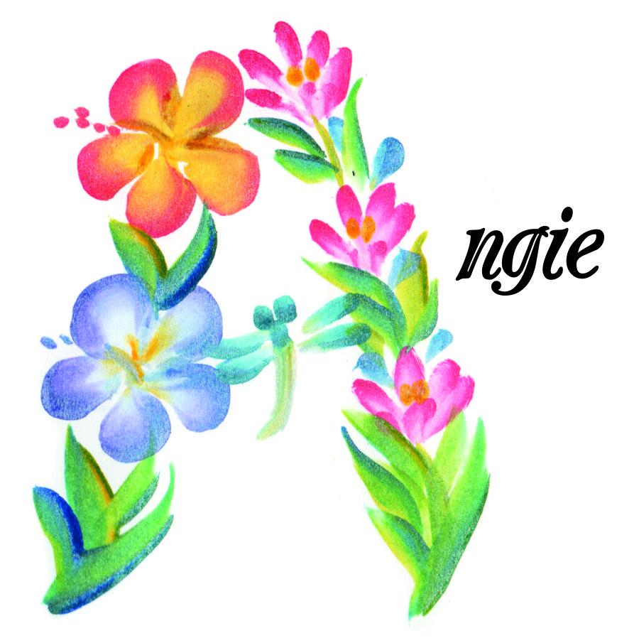 Illuminated Name Flowers
